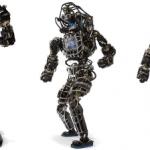 Humanoid Robot Controlled by LEGO Exoskeleton
