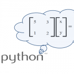 Python – How to Solve Simultaneous Equations