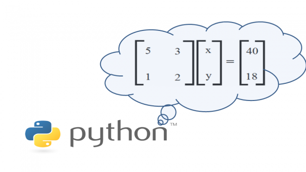 Python Solve Simultaneous Equations