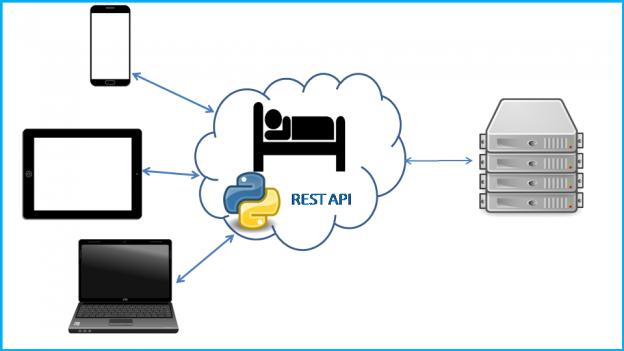 Python REST API Image